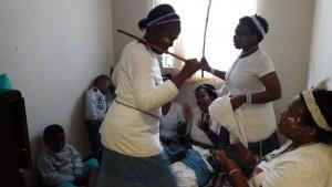Sangoma Dancing