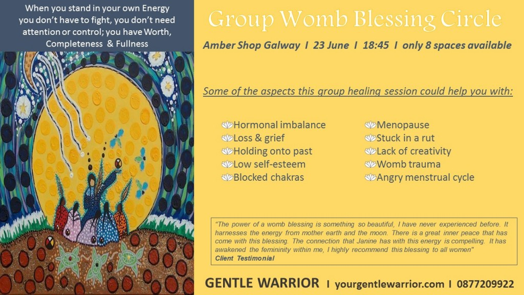 Group Womb Blessing
