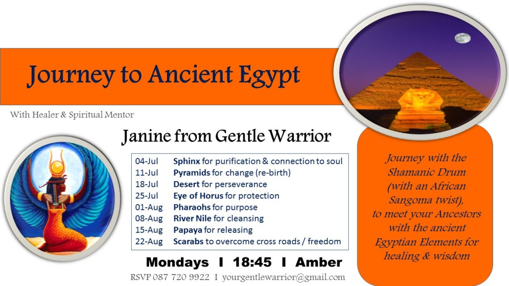 Shamanic Journey to Ancient Egypt