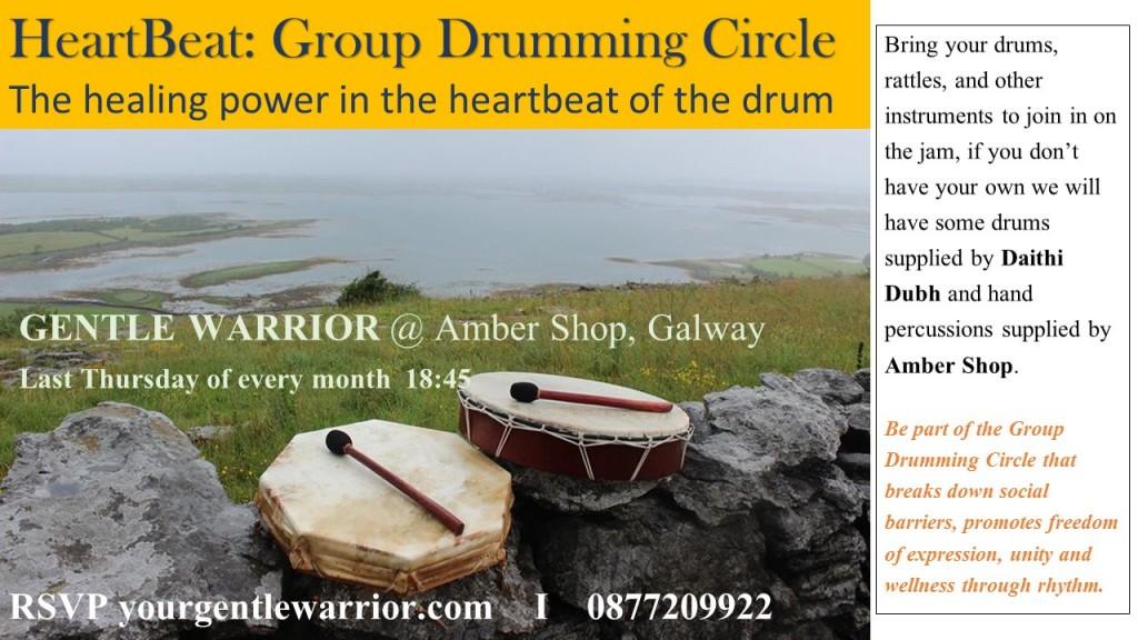 GROUP DRUMMING CIRCLE