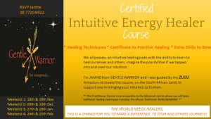 Certified Intuitive Energy Healing Course