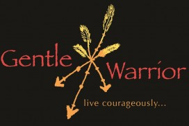 Gentle Warrior Tribal Logo
