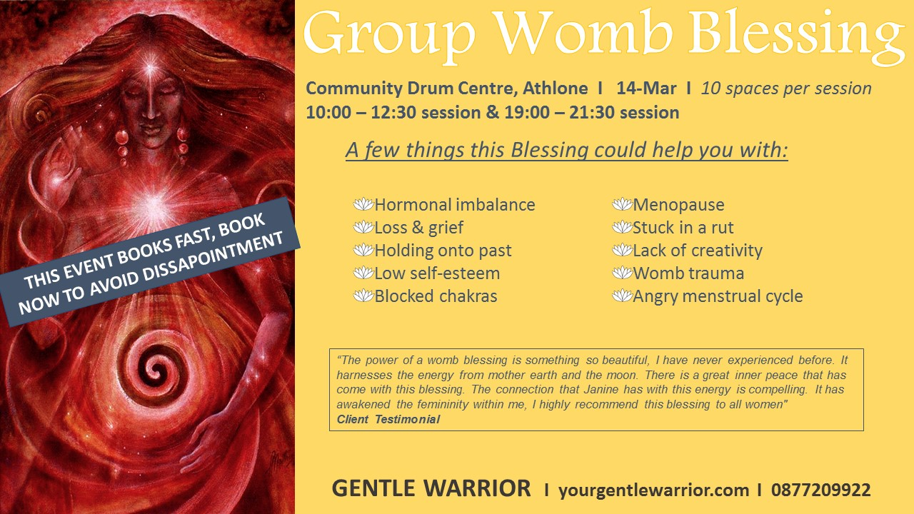 Group Womb Blessing_Athlone