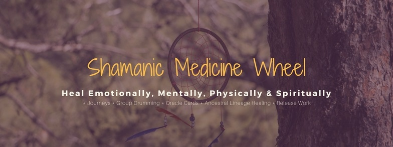 Shamanic Medicine Wheel with Dream Catcher