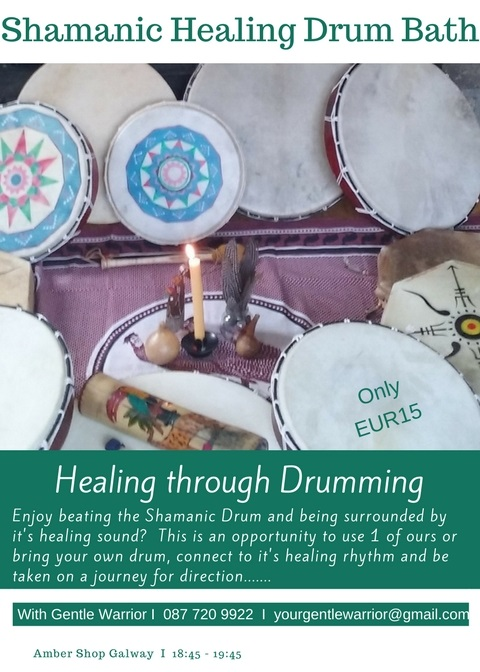 Shamanic Healing Drum Bath with GW